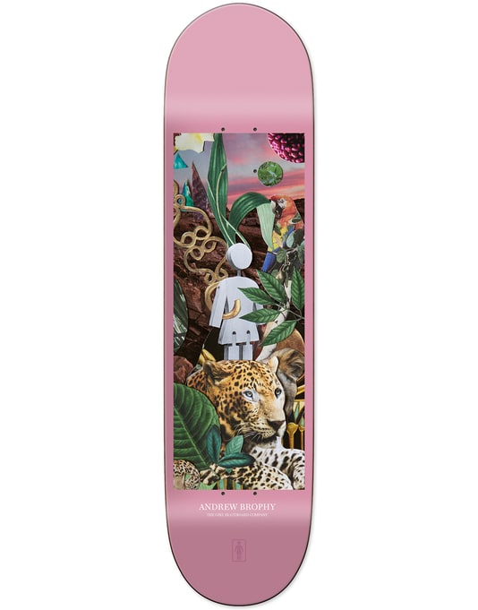Girl Brohpy Raised by the Jungle Pro Deck - 8.25""