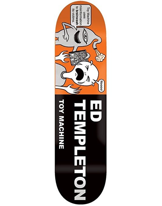 Toy Machine Templeton Tract Pro Deck - 8.5""