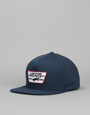 Vans Full Patch Snapback Cap - Dress Blue/Rhubarb