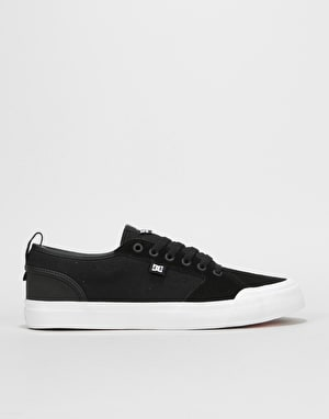 DC Evan Smith S Skate Shoes - Black/Black/White