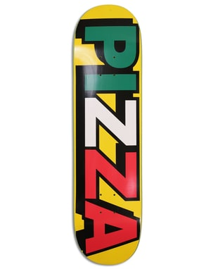 Pizza Tri Logo Skateboard Deck - 8.25