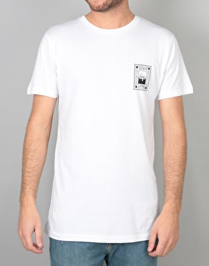 Hype Stamp T-Shirt - White