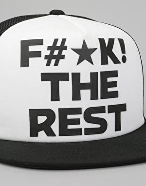 Independent FTR Snapback Cap - Black/White