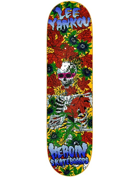 Heroin Yankou Hirotton Vicious Nature Skateboard Deck - 8.25""
