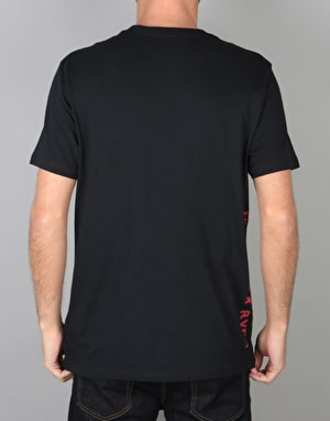 RVCA x Toy Machine T-Shirt - Black