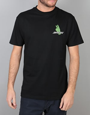 Santa Cruz Atomic Peace T-Shirt - Black