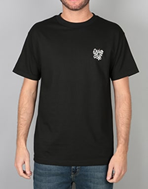 The Quiet Life Aussie Script T-Shirt - Black
