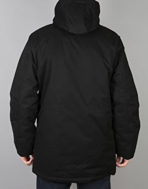Bellfield Alvim Parka Jacket - Black