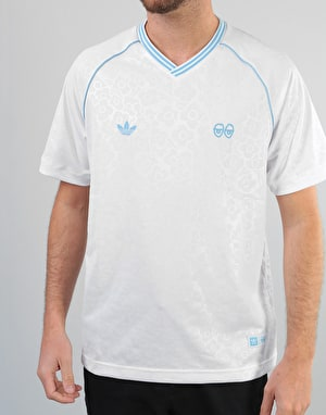 Adidas x Krooked Jersey - White/Clear Blue