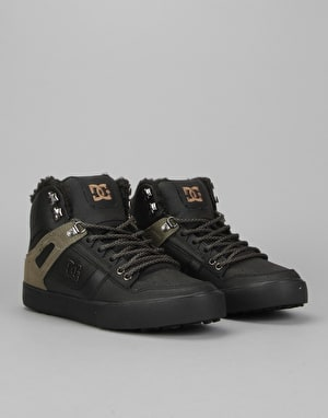 DC Spartan High WNT Boots - Black/Olive