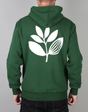 Magenta Classic Pullover Hood - Forest Green