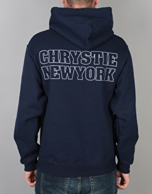Chrystie FDNY.CHRYSTIE Pullover Hoodie - Navy
