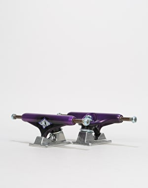 Independent Evan Warped Cross Stage 11 144 Standard Trucks - Purple (Pair)