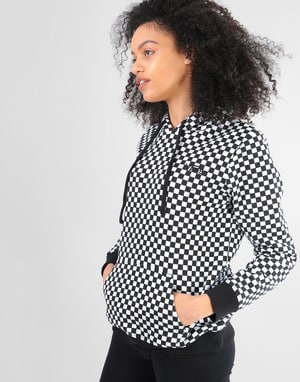 Vans Womens Checkers Hoodie - Checkerboard