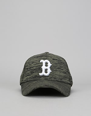 New Era 9Forty MLB Boston Red Sox Engineered Fit Cap - Olive