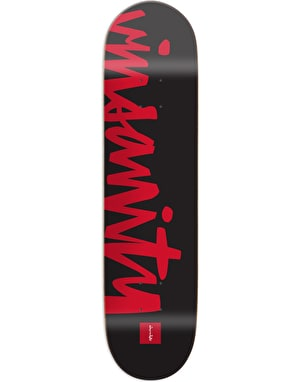 Chocolate Alvarez Nickname Skateboard Deck - 8