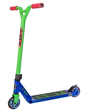 Grit Extremist 2018 Scooter - Blue/Green