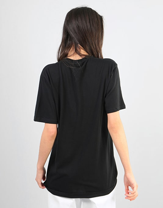 RIPNDIP Womens Lord Nermal Oversized T-Shirt - Black