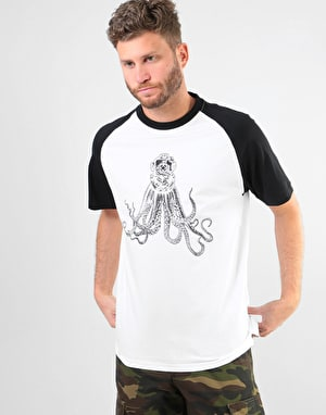Original Octopus T-Shirt - White/Black