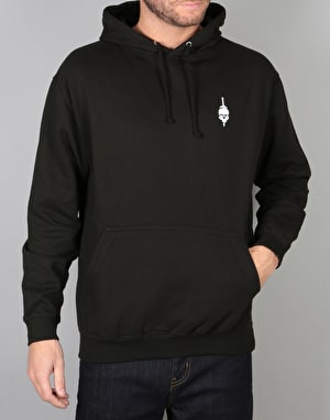Scarred For Life Skull & Dagger Pullover Hoodie - Black