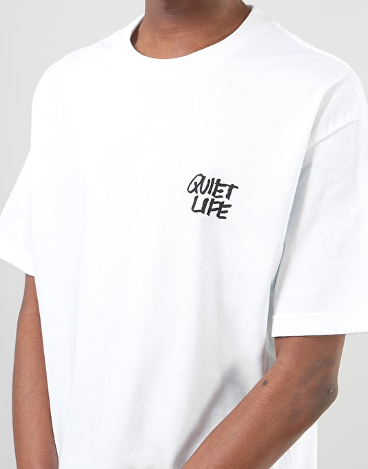 The Quiet Life x James Jarvis Camera T-Shirt - White