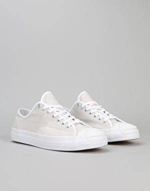 Converse Jack Purcell Pro Ox Skate Shoes - Pale Putty/White/White