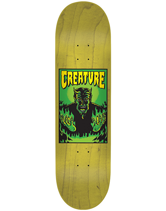 Creature Hell Skateboard Deck - 8.2""
