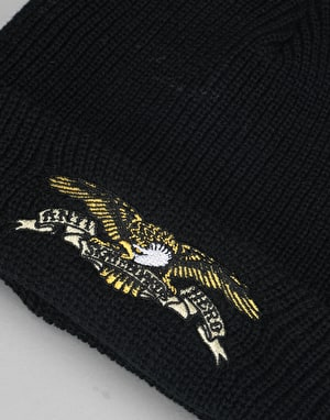 Anti Hero Eagle Emblem Cuff Beanie - Black