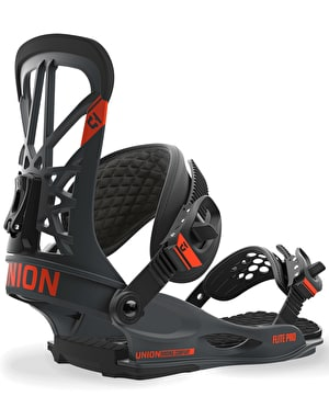 Union Flite Pro 2018 Snowboard Bindings - Dark Grey
