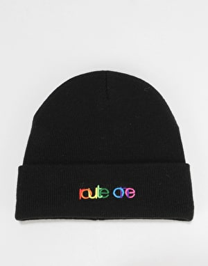 Route One Spectrum Beanie - Black