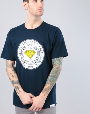 Diamond Stamp of Approval T-Shirt - Navy