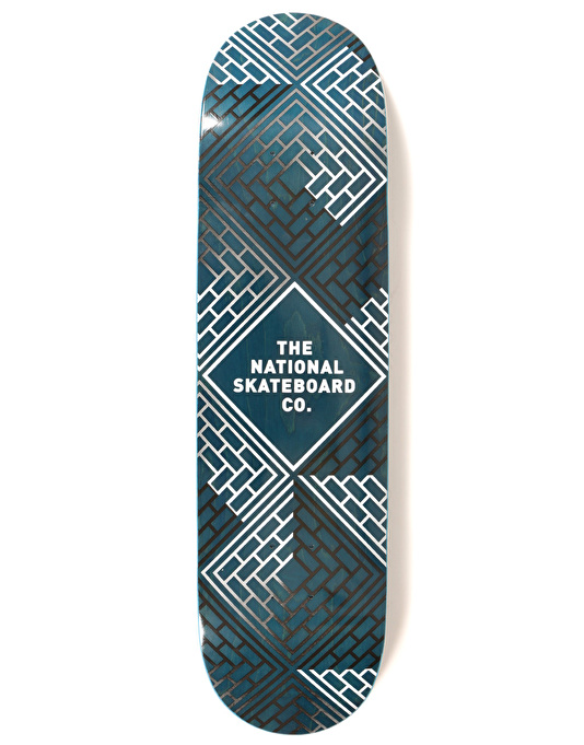 The National Skateboard Co. Classic Team Deck - 8.125""
