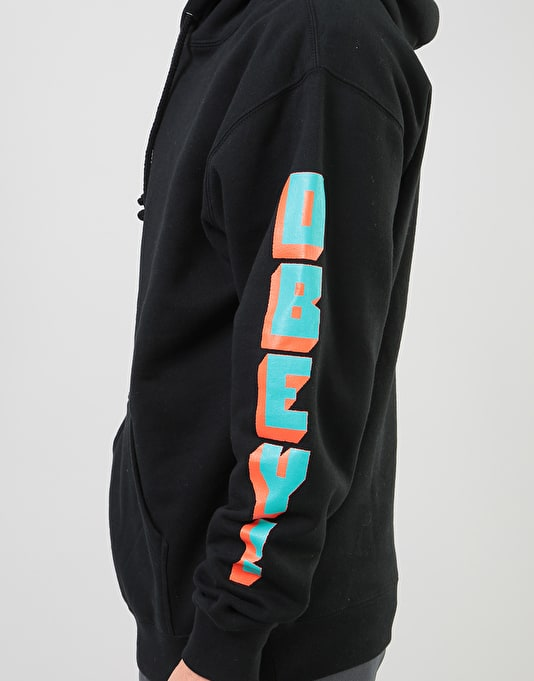 Obey New World 2 Pullover Hoodie - Black