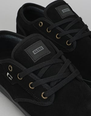 Globe Motley Skate Shoes - Black/Black/Phantom
