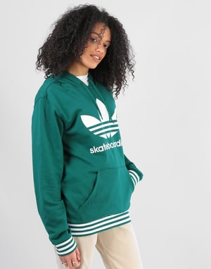 Adidas Womens Uniform Oversized Hoodie - Collegiate Green