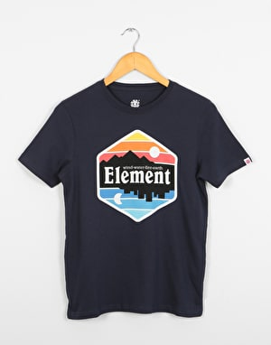 Element Dusk  Boys T-Shirt - Eclipse Navy