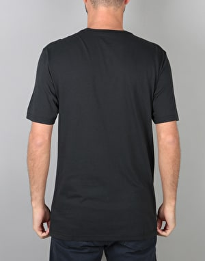 Burton Underhill Logo T-Shirt - True Black