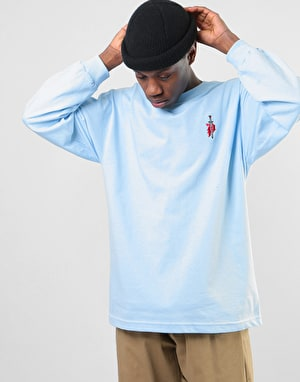Primitive Outsider L/S T-Shirt - Powder Blue