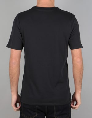 Nike SB Dri-Fit Swooshie T-Shirt - Black/Elemental Pink