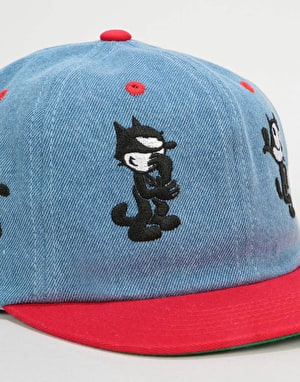 HUF x Felix Doing Things 6 Panel Cap - Blue
