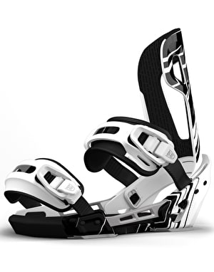Switchback Halldor Pro 2018 Snowboard Bindings - Black/White