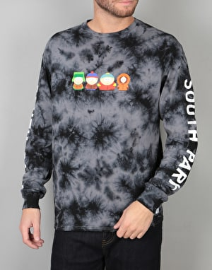 HUF x South Park Kids Crystal Wash L/S T-Shirt - Black