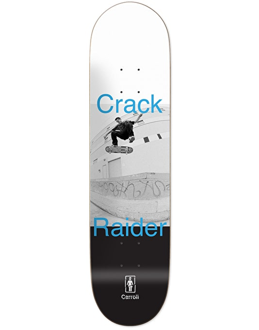 Girl Carroll Crack Raider Pro Deck - 8.375""