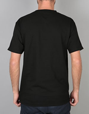 Chocolate Original Script T-Shirt - Black