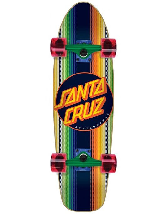 "Santa Cruz Jorongo Dot Jammer Cruiser - 7.4"" x 29.1"""