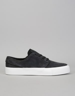 Nike SB Zoom Janoski HT Decon Skate Shoes - Black/Black-Summit White