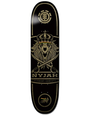 Element Nyjah Concave Lion Pro Deck - 8.125