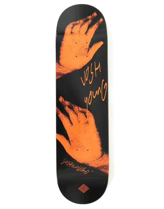 The National Skateboard Co. Young x Catalogue Pro Deck - 8.375""