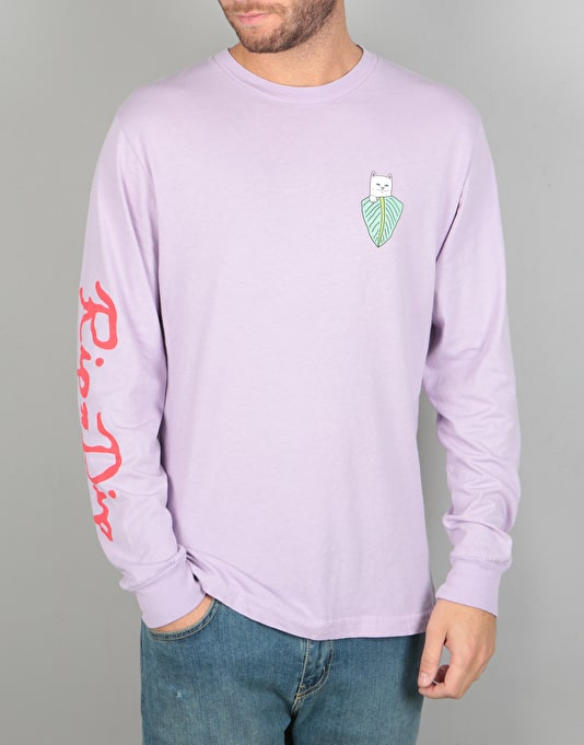 RIPNDIP Frida L/S T-Shirt - Powder Purple