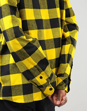 Dickies Sacramento L/S Shirt - Yellow
